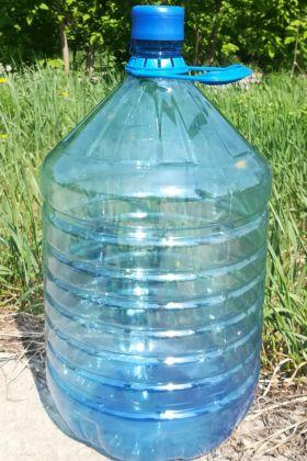 ПЭТ-бутыль 18.9 л (масса 430 гр) с крышкой и ручкой